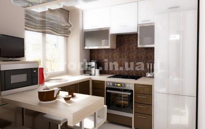 дизайн кухни 8м2