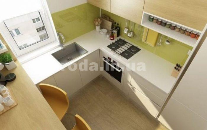 зона готовки в кухне 6м2