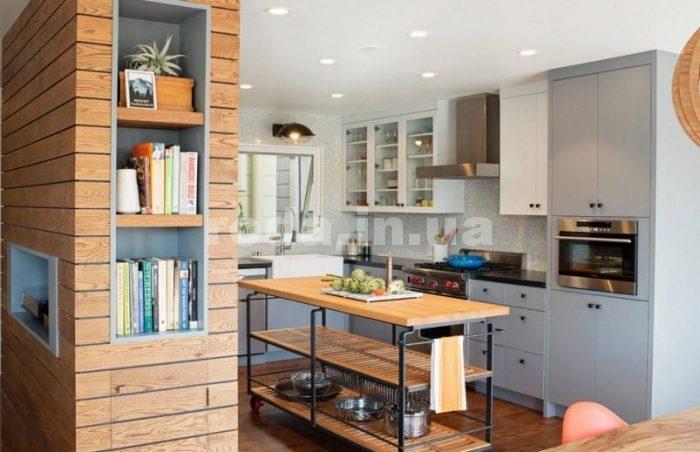 как спланировать кухню, совмещенную с гостиной