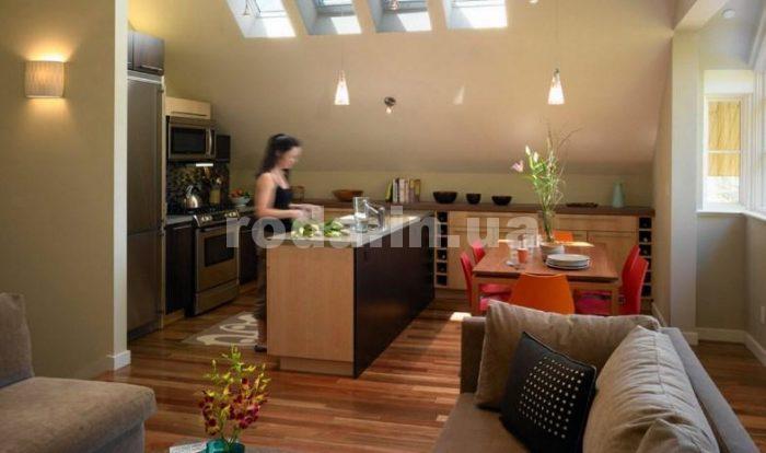 кухня, объединенная с гостиной