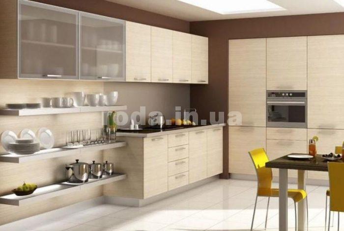 практичность кухни без подвесных шкафов