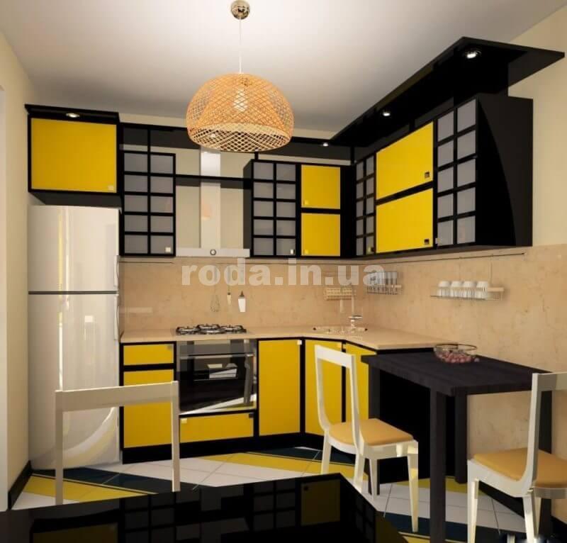 Кухня сделанная в китайском стиле