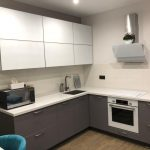 438. Угловая кухня в современном стиле