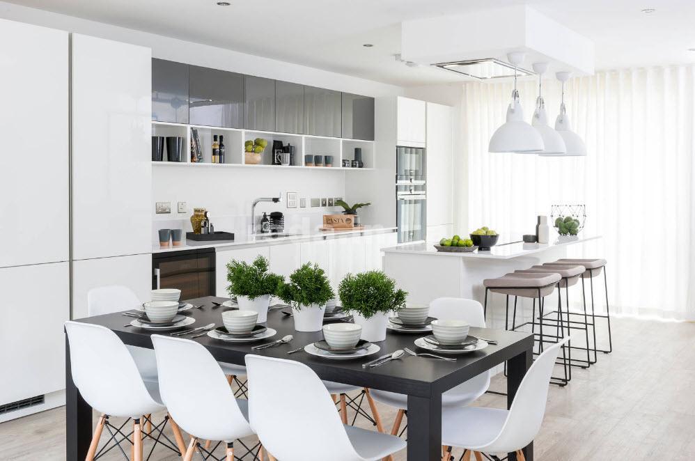 Аксессуары на кухне практично и уютно