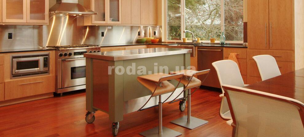 Передвижная барная стойка кухонная