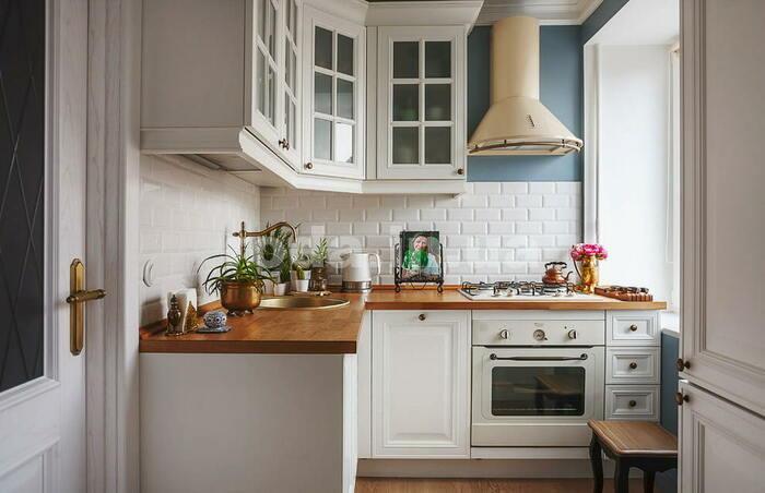 особенности белой кухни