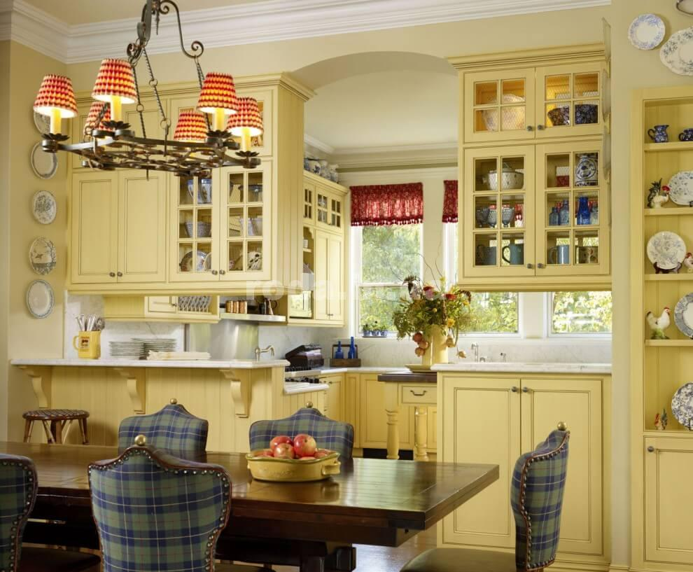 Мебель на кухню в стиле кантри