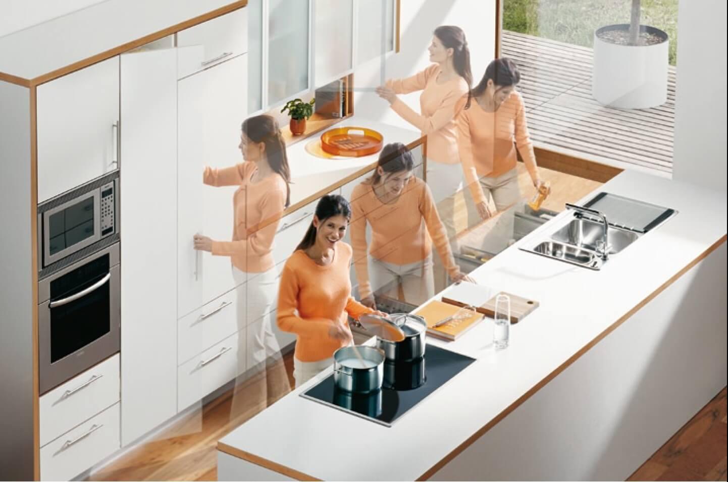Экономия пространства на кухне