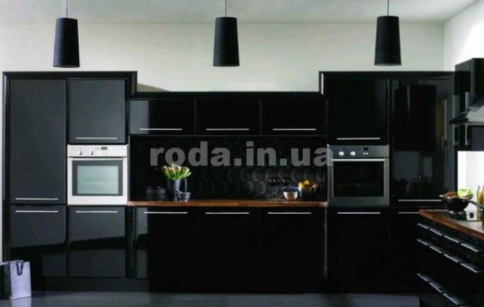 кухни черного цвета 2019
