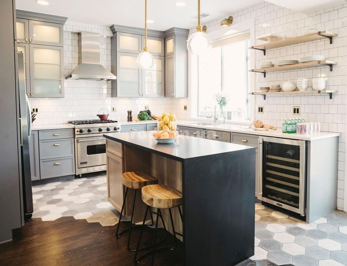 Кухонная плитка напольная
