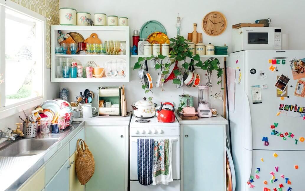 Какой хлам убрать с кухни