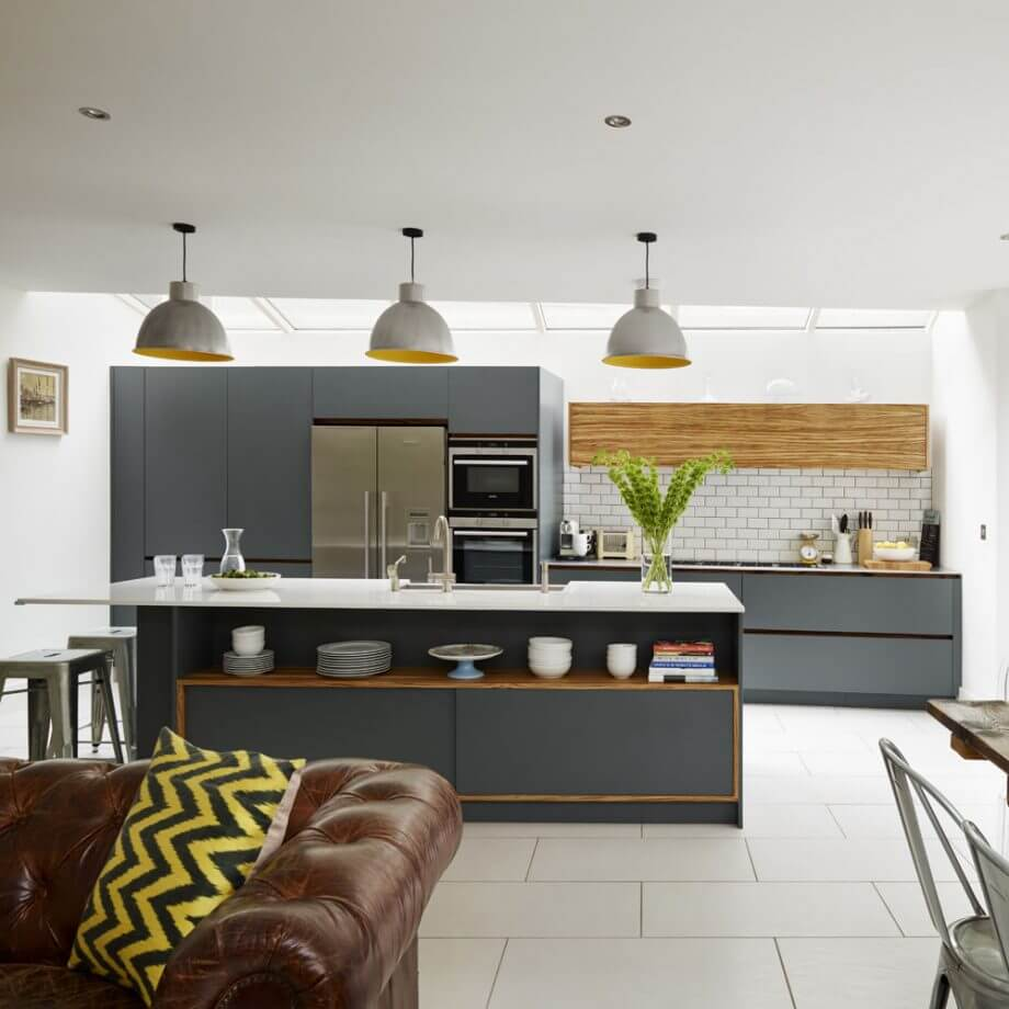 Как сделать обеденную зону на кухне