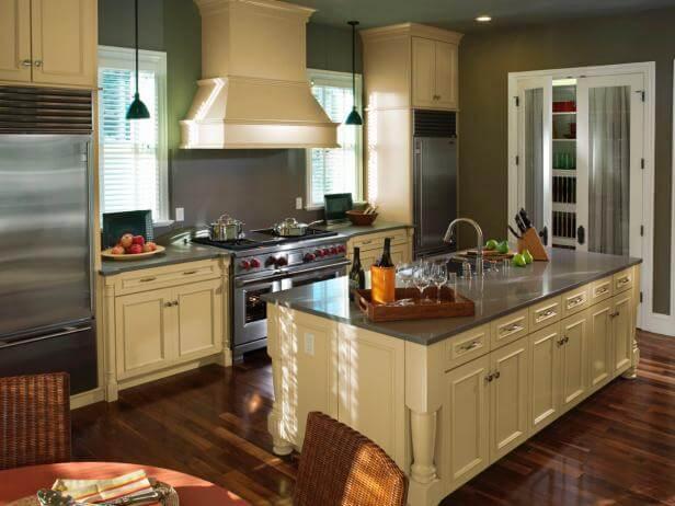Как выбрать материал кухни