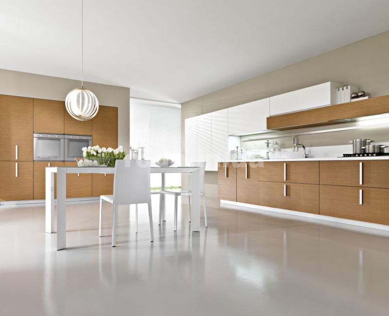 Кухни минимализм - пол