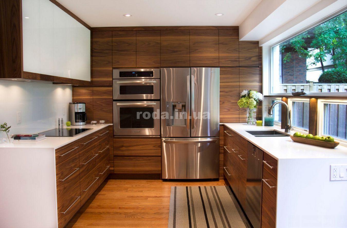 Кухня П-образной формы