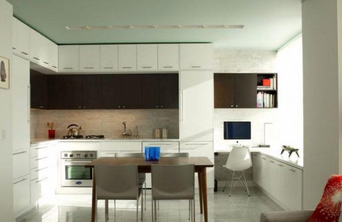 кухня под потолок советы