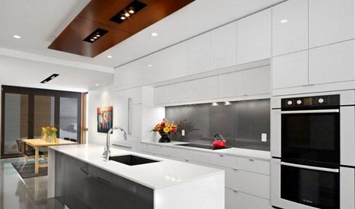 кухня под потолок- идеи дизайна