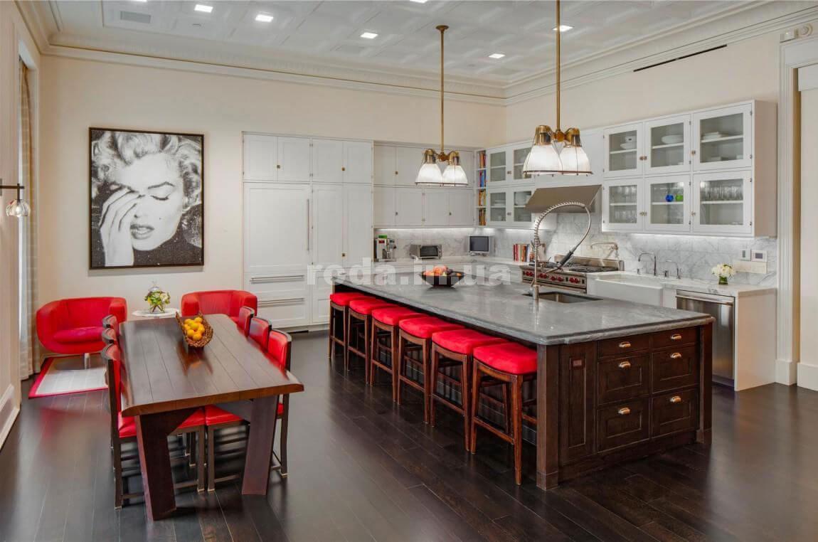Кухонный интерьер в стиле поп-арт