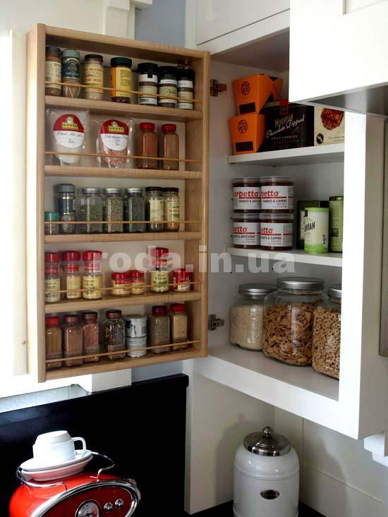 Удобная кухонные полки