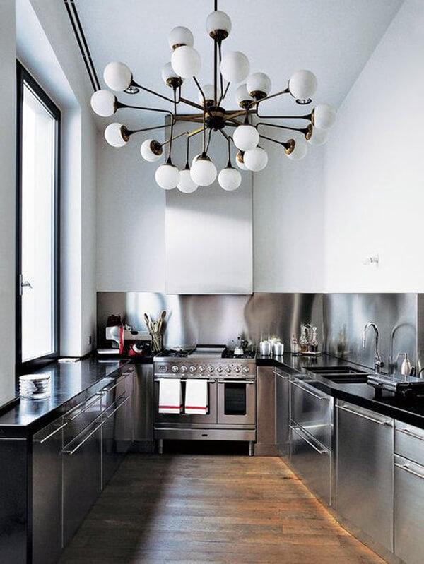 какие бывают люстры для кухни