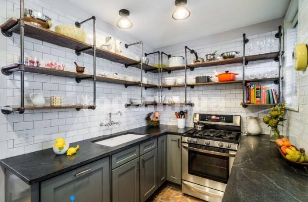 Полки на всю кухню