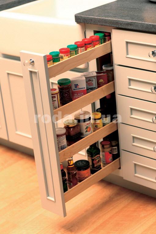 Удобные полки на кухне