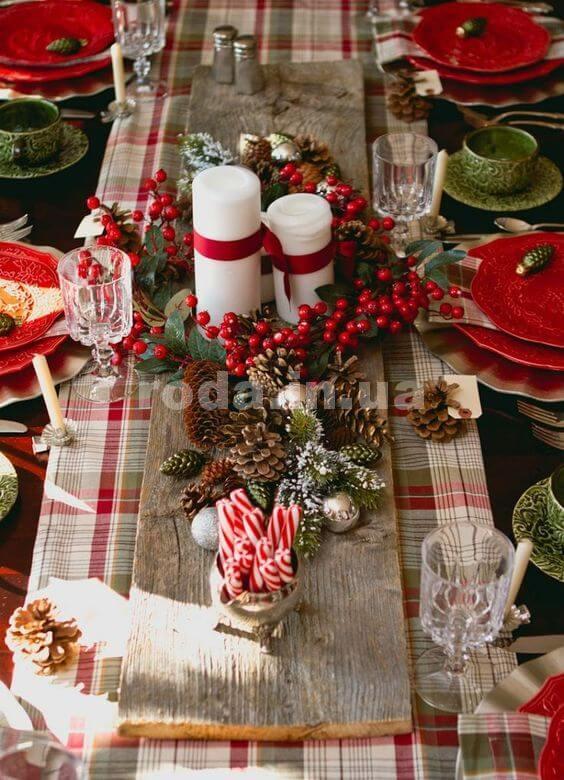 Новогодние украшения для кухни