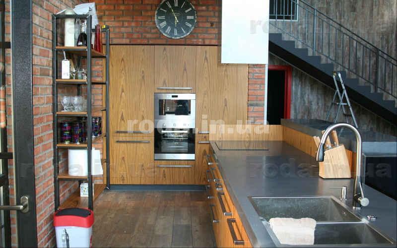 Встроенная кухня фото