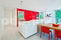 Яркие цвета кухни